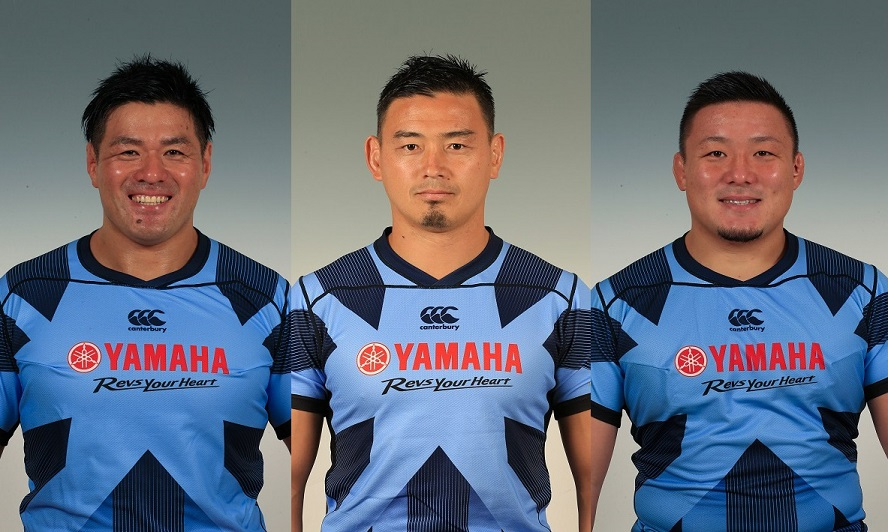 引退する五郎丸のほか、元日本代表の山村亮と山本幸輝もヤマハ発動機ジュビロ退団。