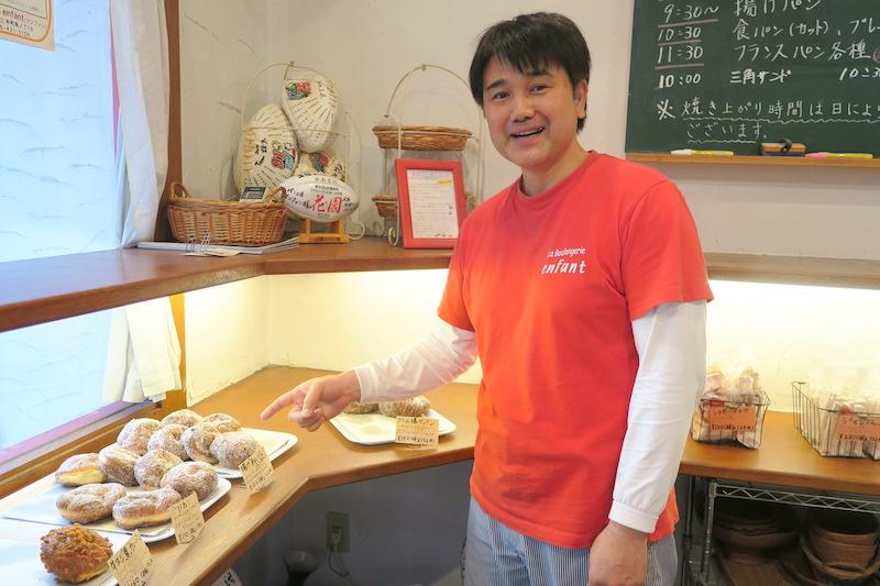 【ラグリパWest】後輩たちのためにパンをおくる。 坂田輝之[パン工房 ラ・ブーランジュリー・アンファン]
