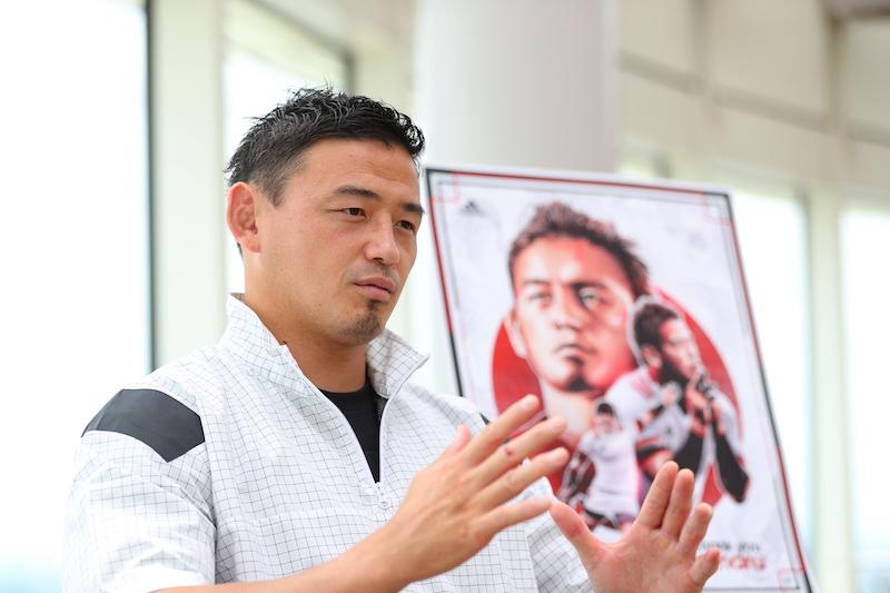 「日本ラグビーの未来図を変える」。五郎丸歩が2015年ワールドカップの映像を見ない理由
