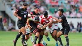 日本代表が久々の試合で辛勝 欧州遠征前に勇敢なサンウルブズから刺激得る