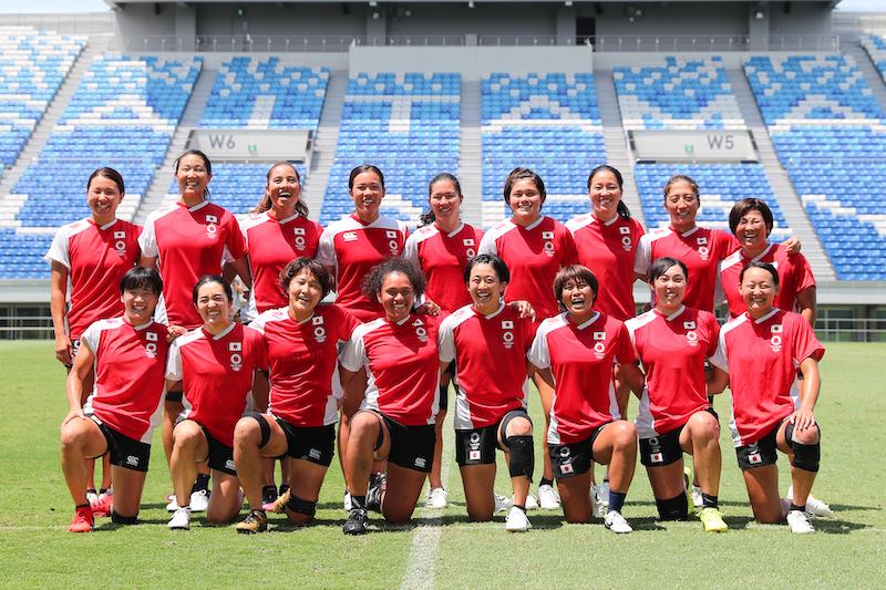 黒木が五輪スコッド入り。山中は13番目の選手へ。女子セブンズ日本代表、決戦への準備進める。