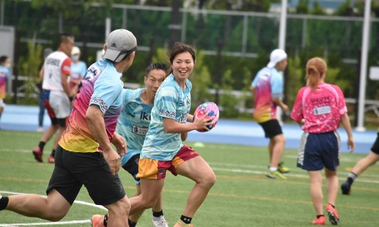 いまこそスポーツ。タッチラグビー大会参加費と豪華オークションで子どもたちをサポート。