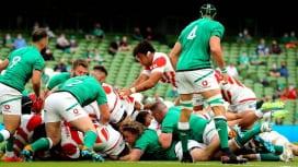 男子日本代表が再び強豪アイルランド代表に挑戦 11月にダブリンで再戦決定