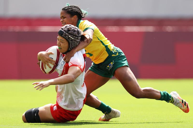 【東京五輪/ラグビー 女子】ラストゲームもブラジルに敗れる。サクラセブンズ、全敗で終戦