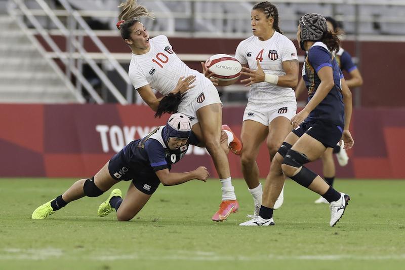 【東京五輪/ラグビー 女子】アメリカにも敗れ初日は2敗も、サクラセブンズ、持ち味出した。