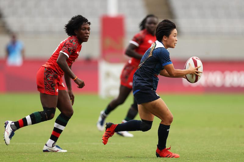 【東京五輪/ラグビー 女子】ラストプレーでケニアに逆転負け。サクラセブンズ、11-12位決定戦へ