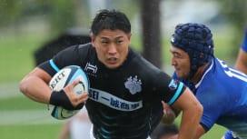 筑波大65-14関東学大。筑波の走りがKGUを凌駕。松永貫汰主将は「勝負できる選手」を目指す。