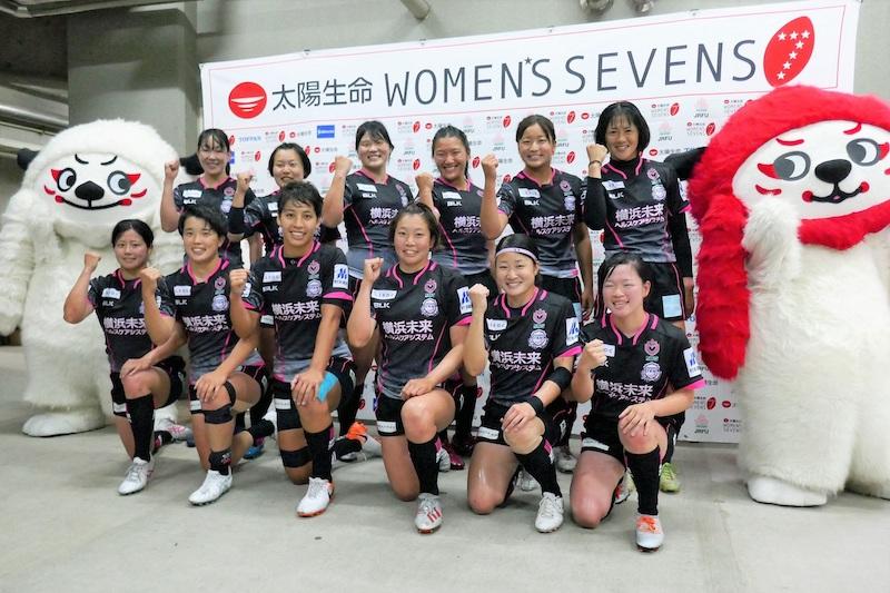 「ラグビー選手と医療従事者2つの道を全うしたい」。女子ラグビーチーム、YOKOHAMA TKMに支援を