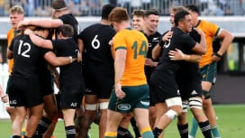 NZが敵地でもオーストラリアに快勝 南半球4か国対抗戦首位に