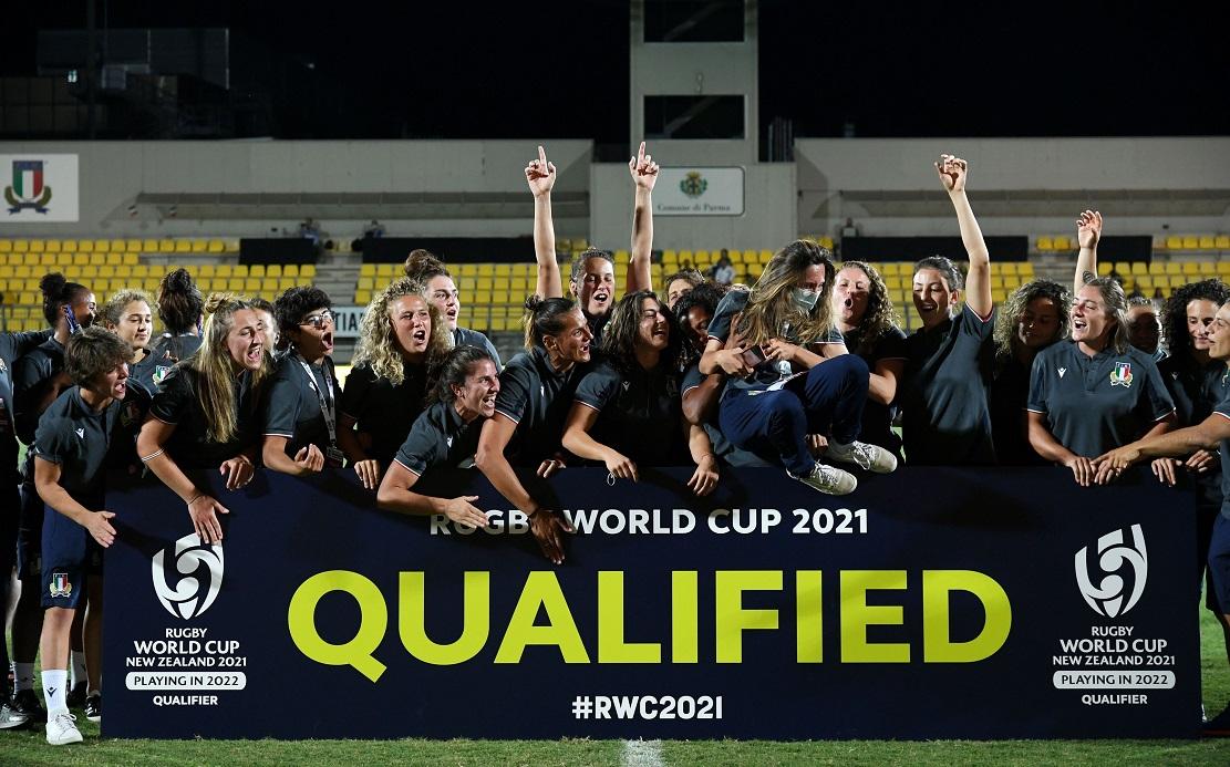 女子イタリアが欧州予選制しW杯出場権獲得! 世界7位アイルランドはまさかの逆転負..