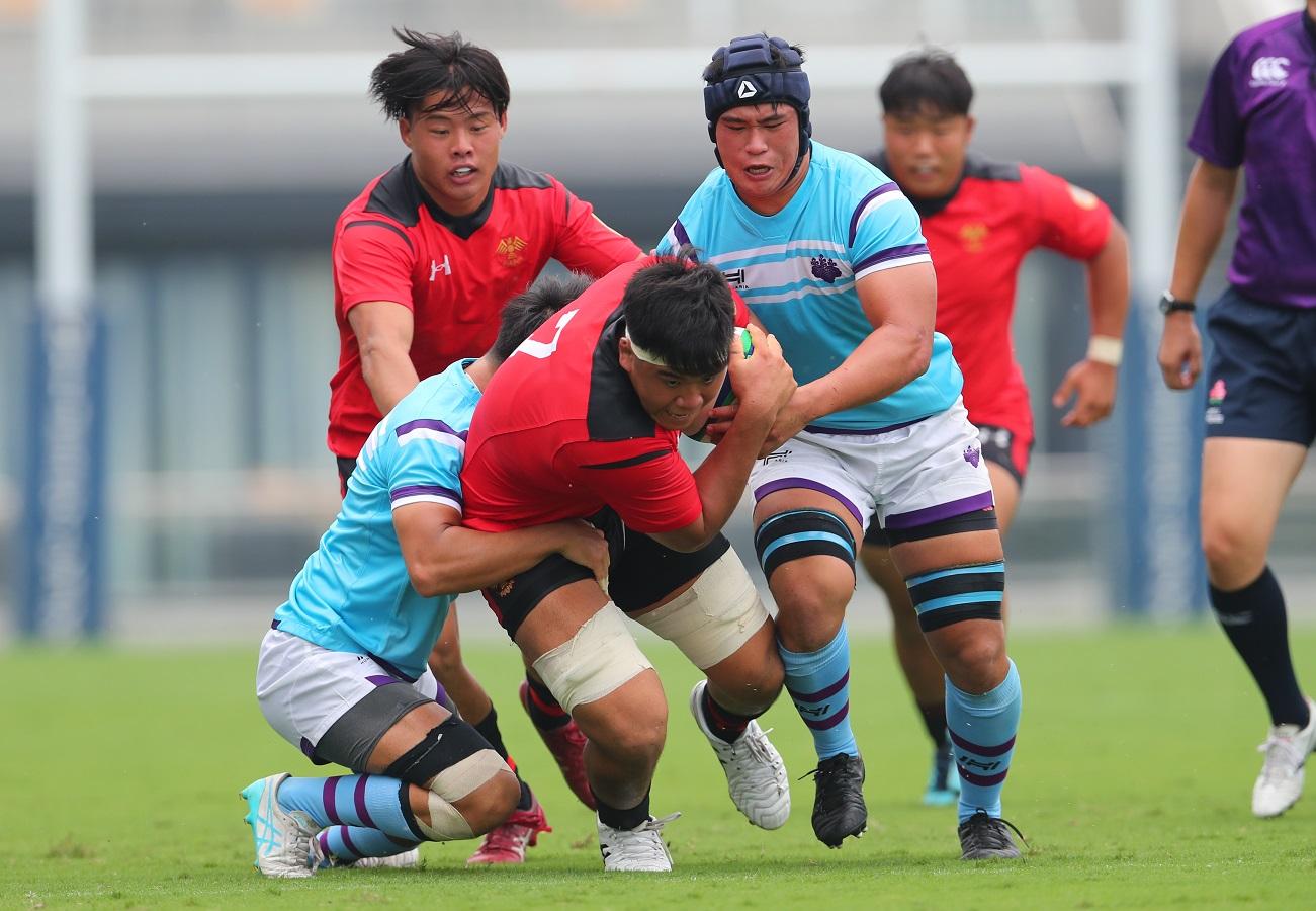 大学ラグビー開幕!帝京大が17-7で筑波大に競り勝つ。