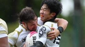 流経大31-27関東学大。劇的な今季初勝利! 開幕2連敗から「自分たちのラグビーをもう1回」と再起。
