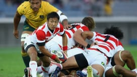 ラグビー日本代表 オーストラリアとの対戦をプレーバック! 10月23日 J SPORTS…