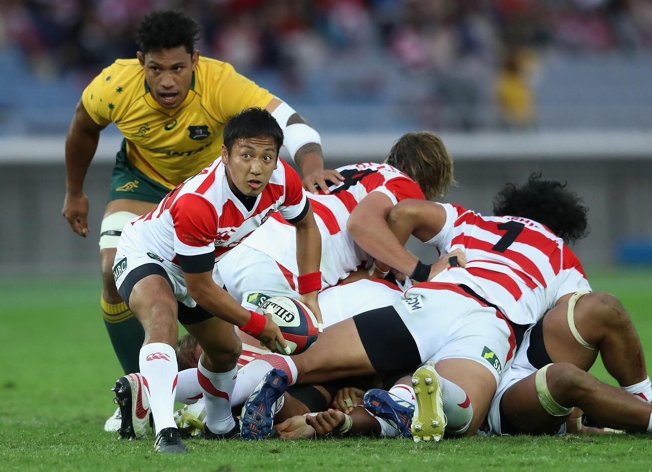 ラグビー日本代表 オーストラリアとの対戦をプレーバック! 10月23日 J SPORTSで生中継&LIVE配信!