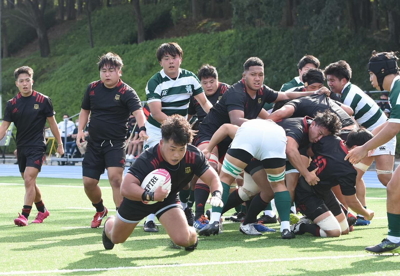 【関東大学リーグ戦1部】HO井上風雅が6トライ。日大、専大に86-3と大勝