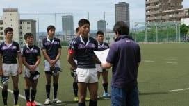高校10人制大阪大会のヒーローたち。