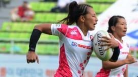【現地発】好敵手復活は朗報も…。女子セブンズ日本選抜、中国に屈す。
