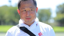 KOREAN RUGBYフェスティバル開催。実行委員、金新日さんの充実。