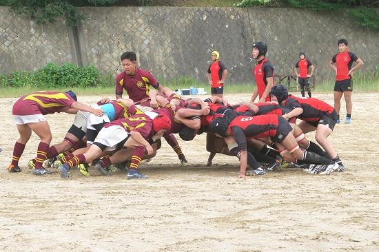 盛夏に2冠に挑戦する。大阪大学医学部歯学部ラグビー部