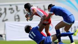男女代表2戦全勝も「満足できない」。アジア・セブンズシリーズ韓国大会初日。