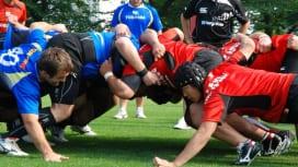 NZ遠征直前合宿では東芝ブレイブルーパスと合同練習を行った日本A代表