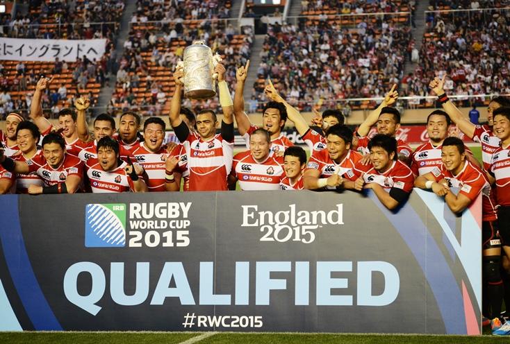 最後の国立で8大会連続のW杯出場を決めた日本代表。アジア五カ国対抗7連覇(撮影:松本かおり)