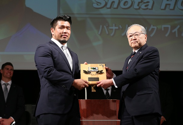 堀江がトップリーグMVP、新人賞は小瀧! ベストフィフティーンに江見ら