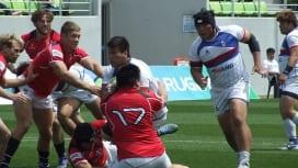 アジアラグビーチャンピオンシップ 香港が韓国に競り勝つ