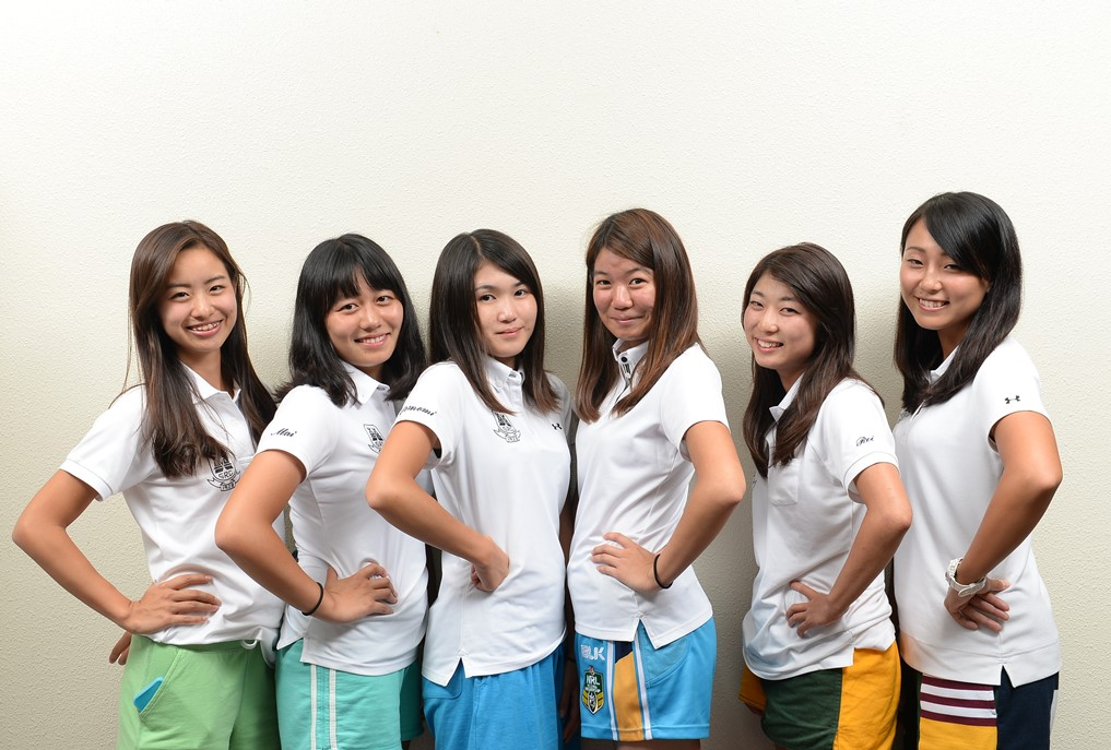 成城大学ラグビー部の活躍を支える女子マネージャーたち(撮影:Hiroaki. UENO)