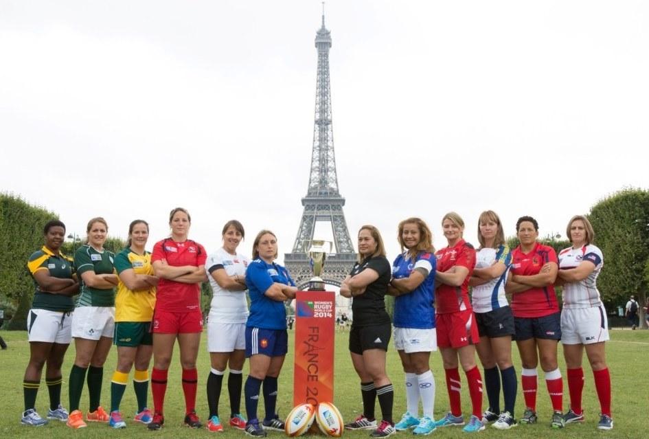 女子ラグビーワールドカップ2014フランス大会、開幕へ。出場国の主将たち(Photo: IRB)