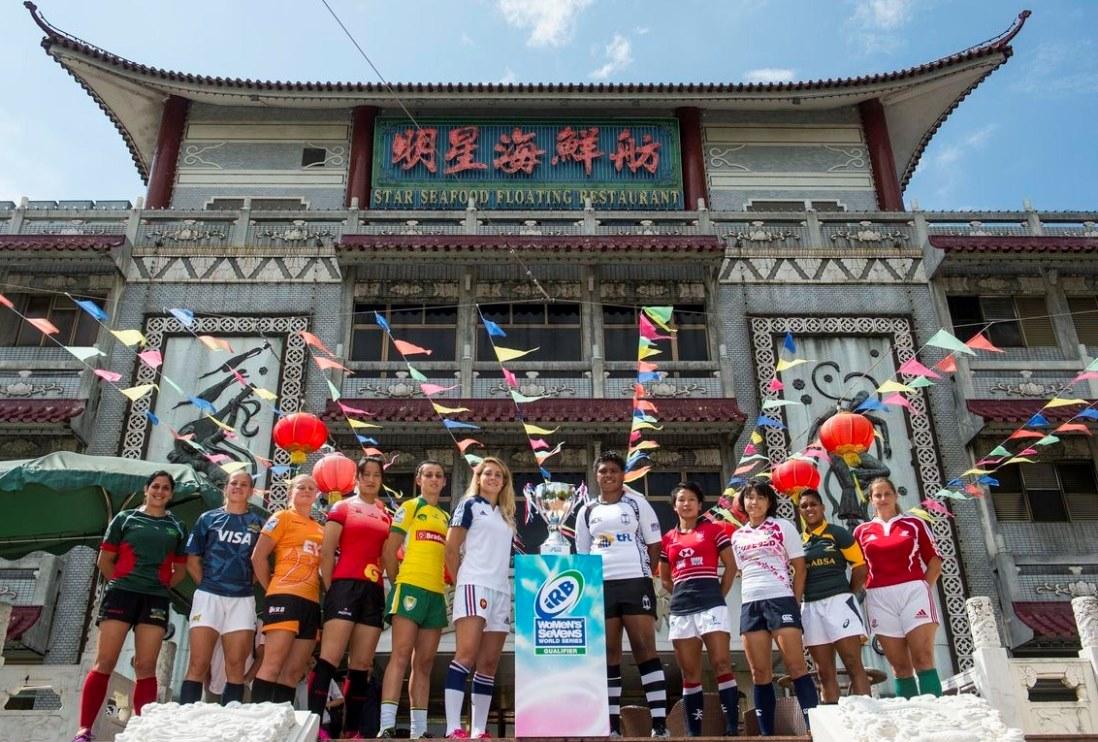 コア昇格かけた女子の戦い(Photo: Power Sport Images for HKRFU)