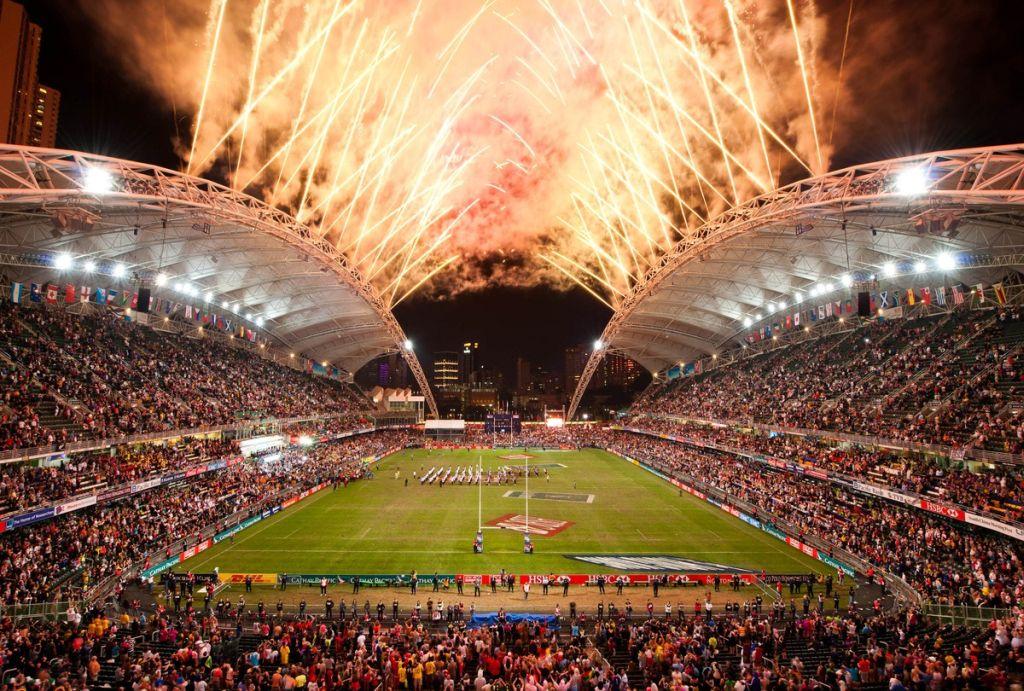 37年の歴史を重ね、世界的人気を博すビッグイベントになった香港セブンズ(写真提供:香港ラグビー協会)