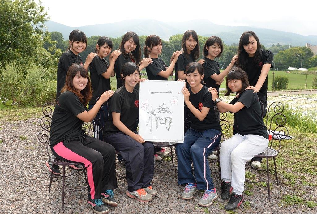対抗戦Aへの昇格を目指す一橋大学ラグビー部の女子マネージャー(撮影: Hiroaki. UENO)