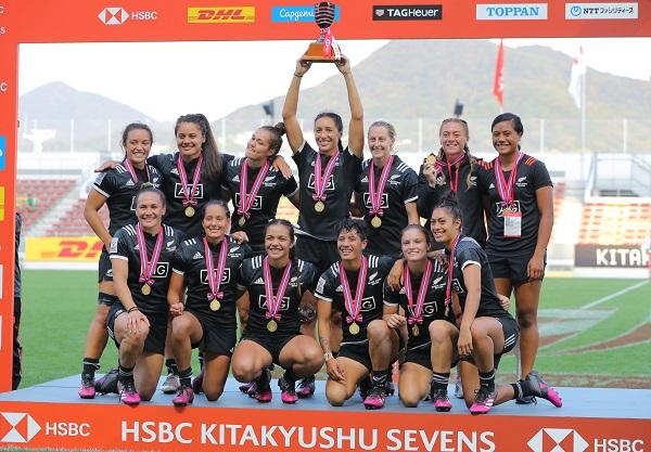 「日本大好き」NZ女子が北九州セブンズ連覇! ヘアタイも幸運もたらす
