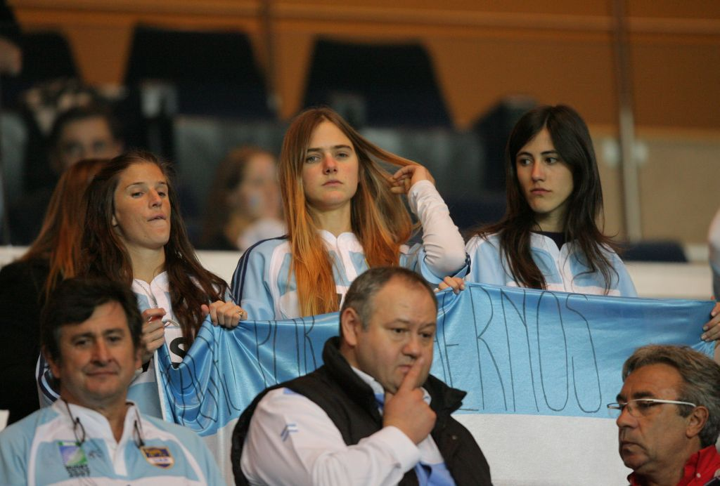 アルゼンチン美女も楽しみに待つ南半球4カ国対抗戦。南米に熱狂再び(撮影:BBM)