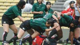 セブンズフェスティバル、PHOENIXと名古屋レディースの試合。女子ラグビーも盛り上がり…