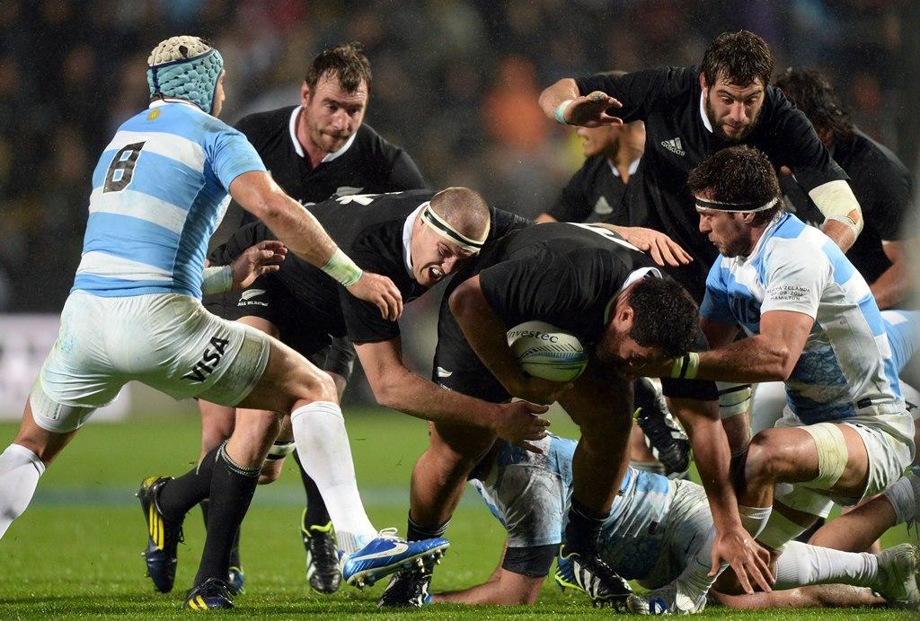 アルゼンチンに苦しみながら、NZ連勝(写真 http://www.photosport.co.nz)