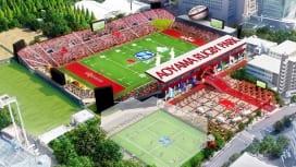 サンウルブズ運営組織5年以内の優勝目標掲げる 青山ラグビーパーク化構想も