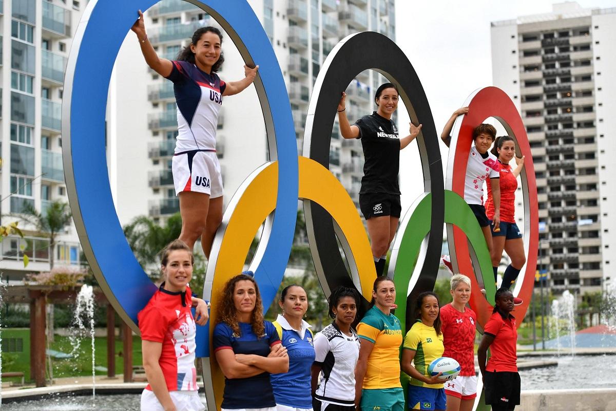 女子セブンズの各国主将(C)Dan Mullan/World Rugby, Getty Images