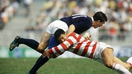スコットランド撃破といえば1989年の一戦。決戦前に気分を高めよう。