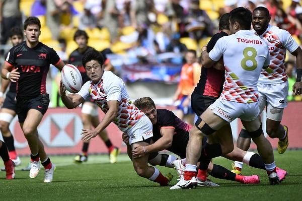 NZセブンズ初日、日本3連敗。ソニービルは最高の7人制デビュー。