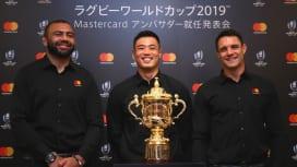 カーター、W杯開催国・日本にエール。2019を後押しする「大使」に就任