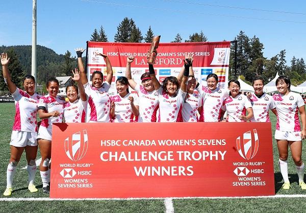 サクラセブンズがカナダ大会チャレンジトロフィー制覇! NZが豪に完勝でV