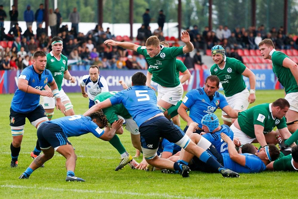 U20世界大会。イタリアがアイルランド下す(C)Achi Gegenavai/World Rugby