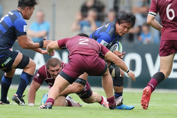 U20日本代表はジョージアに痛恨の逆転負け 最終日は残留・降格決定戦へ
