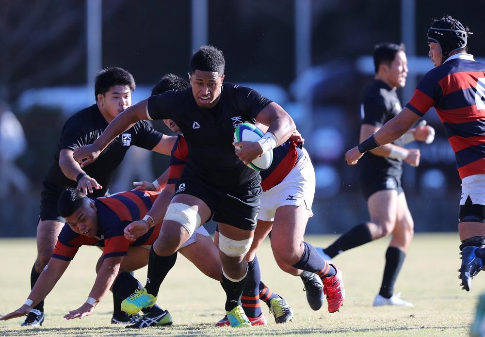 天理大は関西学院大を73−7と圧倒し、2018関西大学Aリーグで唯一5戦全勝(撮影:早浪章弘)