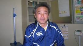 大阪教員団の55歳現役、FB青木進さん(三島高校ラグビー部監督)