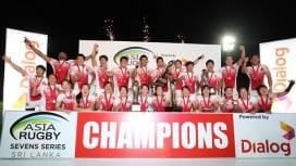 日本が男女チームそろって完全制覇! アジアラグビーセブンズシリーズ