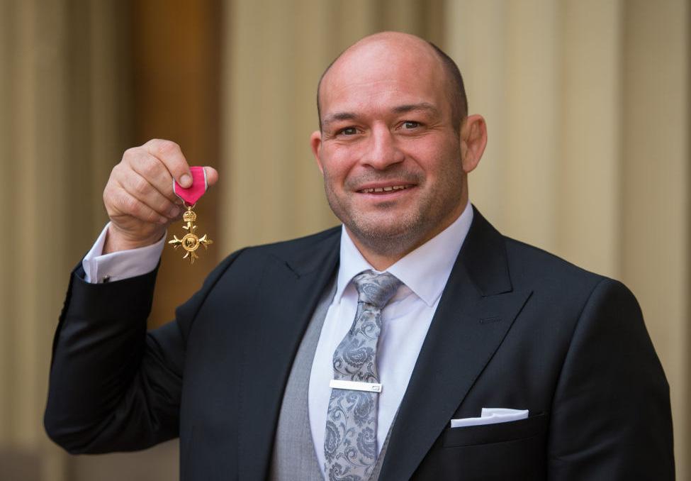大英帝国勲章を受章したアイルランド代表のローリー・ベスト主将(C)Getty Images