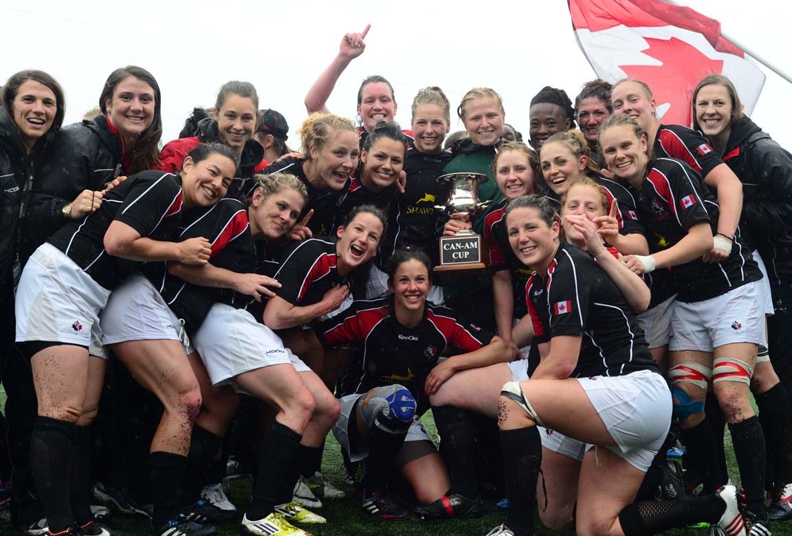 女子W杯まで100日。上位狙うカナダ(Photo: Kris Gower/Rugby Canada)